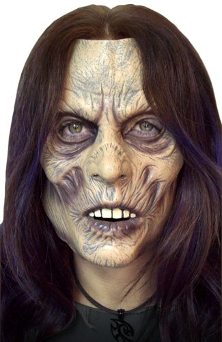 Zombie Lady Soft Vinyl Facial Mask (Zombie Costumes Women)