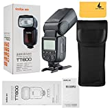 Godox TT600 2.4G Wireless Flash Speedlite Master/Slave Flash with Built-in Trigger System for Canon Nikon Pentax Olympus Fujifilm Panasonic (TT600)