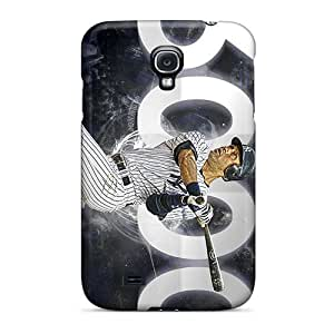 Hot YqI742KDjo Case Cover Protector For Galaxy S4- New York Yankees
