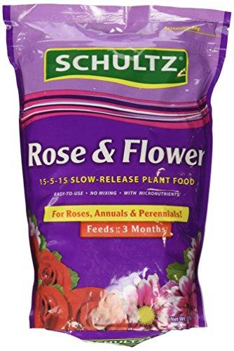Schultz Spf48410 Rose & Flower Slow-Release Plant Food, 15-5-15, 3.5 Lbs
