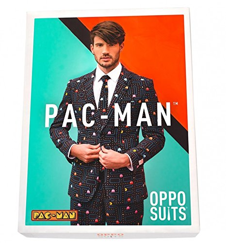 OppoSuits Mens Pac Man Suit with Tie from: Amazon.es: Ropa y ...