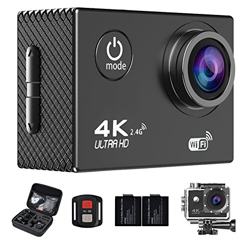Ultra HD 4K WiFi 16MP Action Camera Sport DVR (Black) - 7