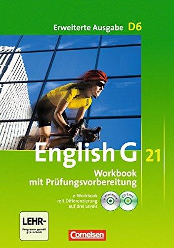 English G 21 - Erweiterte Ausgabe D / Band 6: 10. Schuljahr - Workbook mit Audio-Materialien