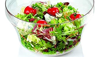 11-Inches Guzzini Latina Large Transparent Salad Spinner