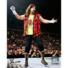 Mick Foley in-ring - WWE 8x10 Glossy Photo