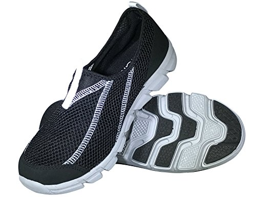 Viakix Womens Water Shoes - Comfortable Stylish Mesh Aqua Sneakers –Swim, Pool, Beach Shoes for Women