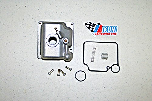 Genuine Mikuni HSR42 HSR45 9 Piece Carburetor Float Bowl parts (Mikuni Float Bowl)