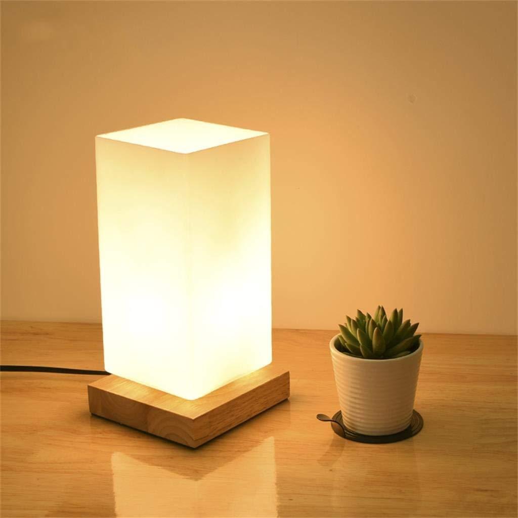 MON5F Home Einfache Massivholz Tischlampe Wohnzimmer Schlafzimmer Lichter