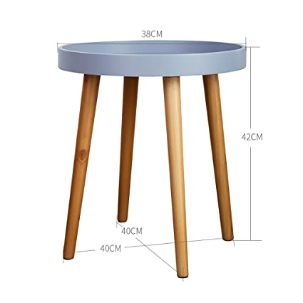 Coffee Tables Solid Wood Round Table Coffee Table Sofa Small Coffee Table  Side Several Corner Table Small Round Small Table Solid Wood Legs Desktop  Edge ...