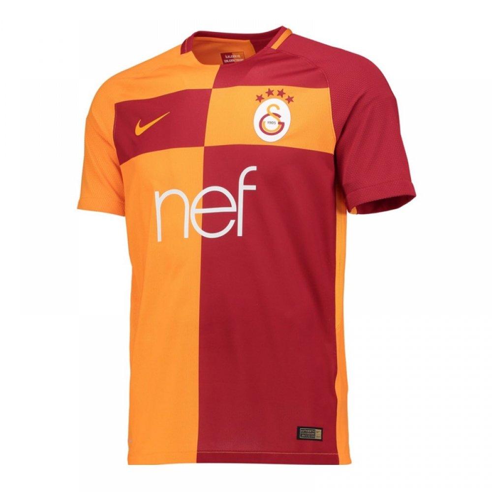 2017-2018 Galatasaray Nike Vapor Home Match Shirt B073L3R5Z7