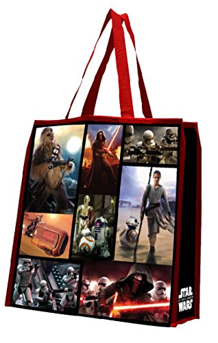 Reusable Shopper Tote - Star Wars Episode VII Large Recycled Shopper Tote