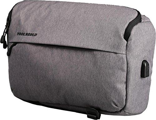 5455697c74 foolsGold Appareil photo reflex hybride professionnel sac à dos sac  bandouliere avec USB en gris clair: Amazon.fr: Photo & Caméscopes
