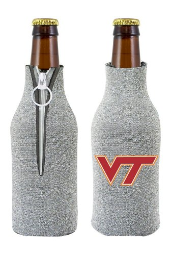 (Kolder NCAA Virginia Tech Glitter Bottle Coolie, One Size, Multicolor)