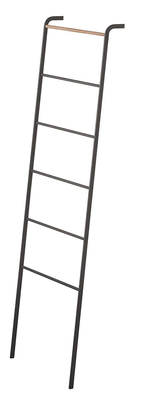 YAMAZAKI home Leaning Ladder Rack, Black