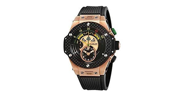 5f8dbe4b8 Amazon.com: Hublot Big Bang Unico Bi-Retrograde FIFA 2014 Black Dial Mens  Watch 412OQ1128RX: Watches