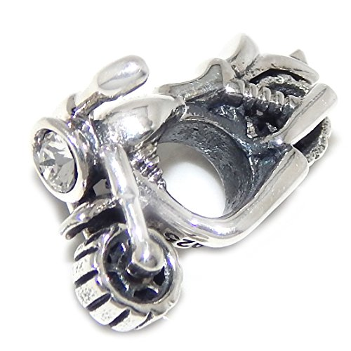 Sterling Silver Motorcycle - 2