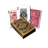 Victorian High Red Playing Cards