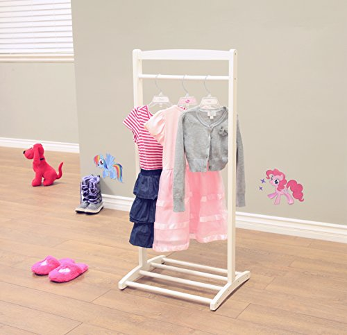 Frenchi Home Furnishing F18WH Kid's Clothes Hanger by Frenchi Home Furnishing (Image #2)