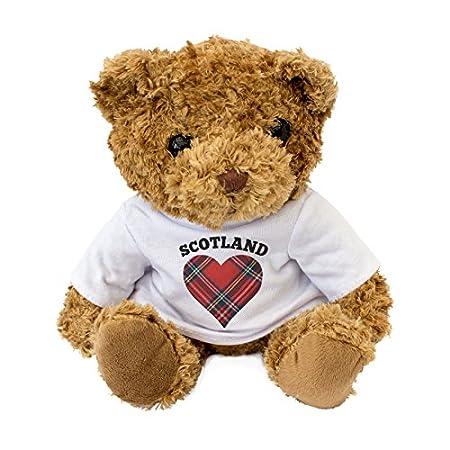 NEW – Scotland Tartan Heart Teddy Bear – I Love Scotland – Gift Present 51obgr985XL