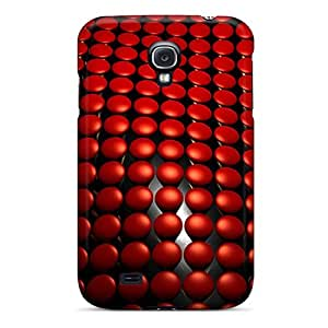 Defender Case With Nice Appearance (wave 3d) For Galaxy S4