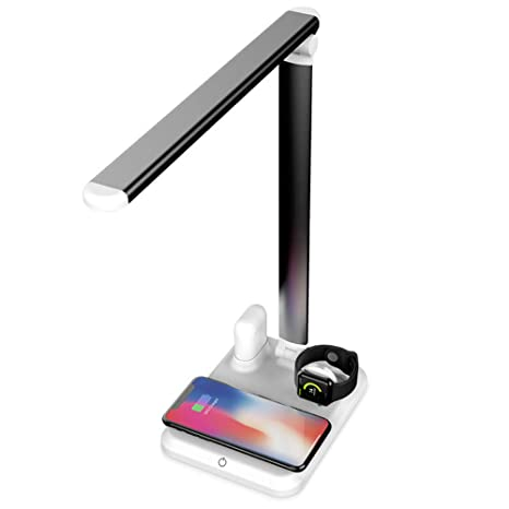 Yizhen QI Lámpara de escritorio de carga inalámbrica cuatro ...
