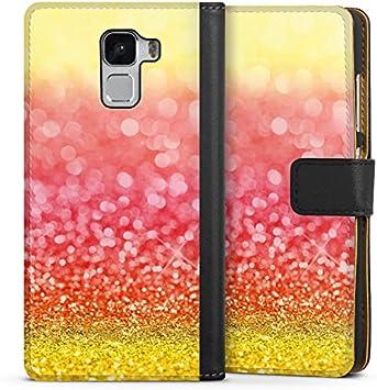 Huawei Honor 5 x FUNDA CASE Teléfono Móvil España Bandera de purpurina: Amazon.es: Electrónica