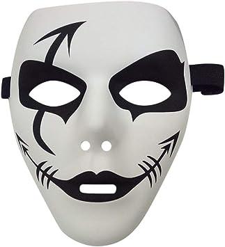 Sunnyday Máscaras Máscara Pintada PVC Traje de Cara de Halloween ...