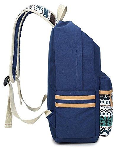JSbetter - Bolso mochila  para mujer Verde verde caqui