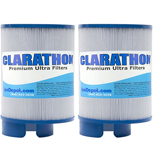 (Clarathon 2 Filters for SofTub - 5015 Replacement fits Pre-2009 Spa Models - 2-Pack)