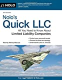 img - for Nolo's Quick LLC: All You Need to Know About Limited Liability Companies (Quick & Legal) book / textbook / text book