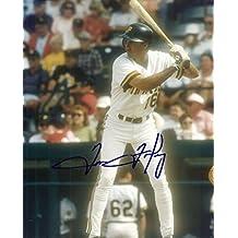 Signed Tom Foley Photo - 8x10 W COA - Autographed MLB Photos