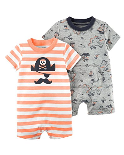 Baby Pirate Clothes - Carter's Baby Boy's 2 Pack Cotton