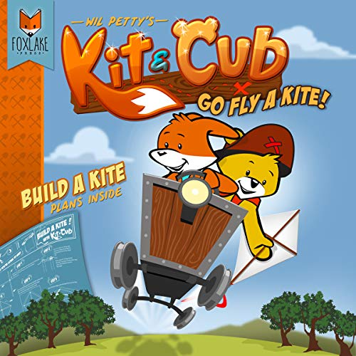 Kite Construction Kit - Kit & Cub: Go fly a kite!  ebook