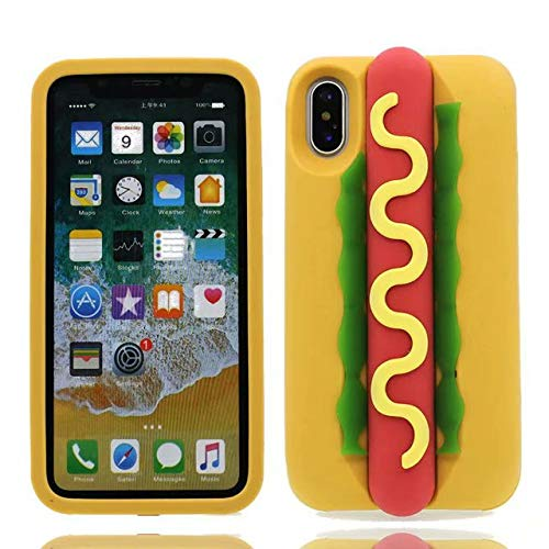 4bff9cf2a8 Image Unavailable. Image not available for. Color: Cute 3D Cartoon iphone X  Case ...