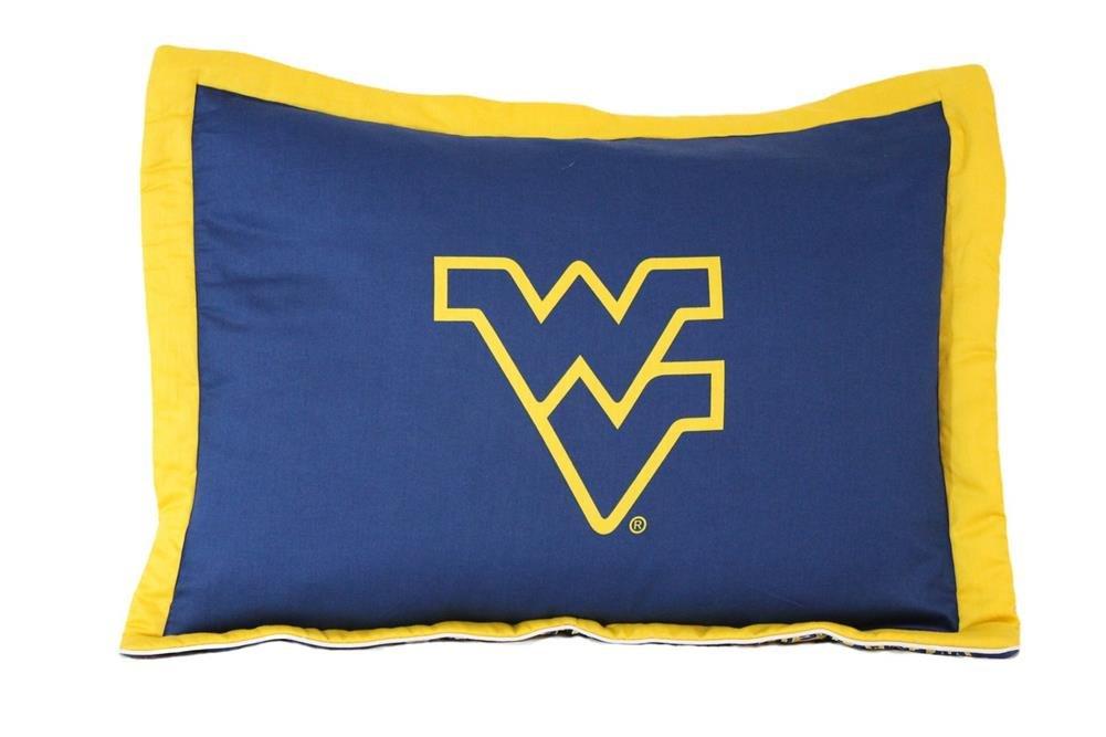 College Covers WVASH West Virginia Printed Pillow Sham