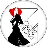 """Bette Midler - Divine Miss M - 2.25"""" Round Magnet"""