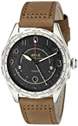 AVI-8 Men's AV-4035-02 Lancaster Bomber Analog Display Swiss Quartz Brown Watch