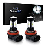 led 6000k bulb - SiriusLED H8 Size DRL Fog Light LED 30W 6000k Super Bright White Projection Bulb Pack of 2