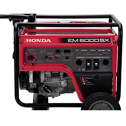 Honda 660530 5,000 Watt Portable Generator w/ iAVR Technology (CARB)