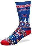 NFL Buffalo Bills Super Fan Socks (Mens Large 10-13)