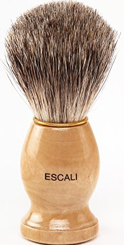 (Escali 100% Pure Badger Shaving Brush)