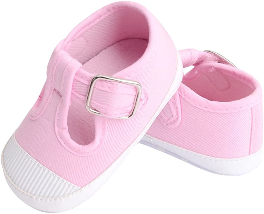 JTENGYAO Baby Child Girls Boys 0-12 Month Unisex Shoes Buckle Strap for Toddler Made by Cotton for Spring Summer