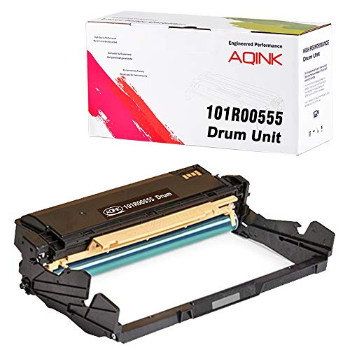 - AQINK Compatible Drum Cartridge Replacement for Xerox 101R00555 High Yield Drum Unit for Use in Xerox Phaser 3330 WorkCentre 3335 3345 Printers, 30,000 Pages (Black, 1- Pack)