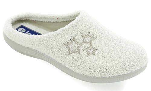 Inblu pantofole ciabatte invernali da donna art. BS-28 spugna GHIACCIO (41) f0023b91773