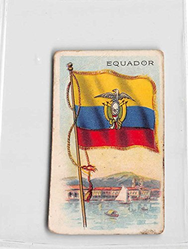 Equador 1909 Sweet Caporal Little Cigars Flags of All Nations (FAIR) light - Cigars Light Little