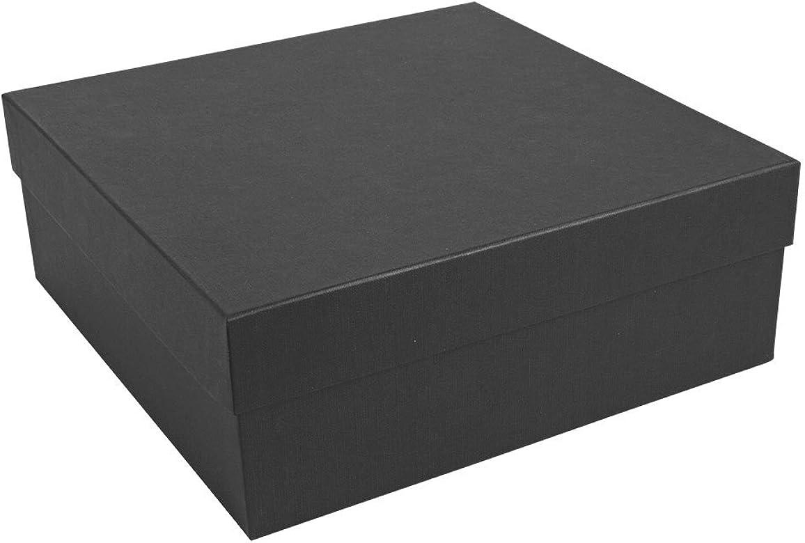 Jouailla-Caja de cartón, color negro: Amazon.es: Joyería