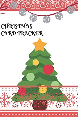 CHRISTMAS CARD TRACKER: An address book and tracker for the Christmas cards you send and receive (Amazon Com Mailing Address And Phone Number)