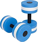 Fashiondi Sports Aquatic Exercise Dumbbells Aqua Fitness Barbells Exercise Hand Bars - Set of 2 - For Water Aerobics