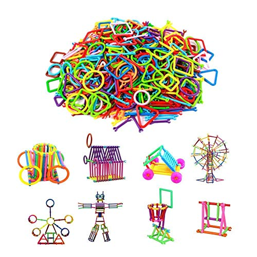 Adichai Mega Jumbo Pack Of Multi Color Educational Building Blocks Smart Stick With Different Shape Game Set For Kids – Smart Sticks