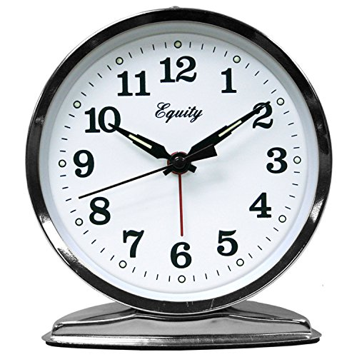 Equity by La Crosse Wind-Up Loud Bell Alarm Clock - Bell Key Wind Alarm Clock